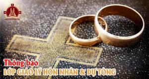 [Nam Định] Thông báo khai giảng lớp giáo lý hôn nhân hạt Đại Đồng tháng 11 năm 2020