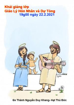 [Hồ Chí Minh] Giáo Xứ Thánh Nguyễn Duy Khang Khai Giảng Lớp Giáo Lý Hôn Nhân Và Lớp Giáo Lý Dự Tòng Tháng 2