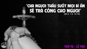 Lịch Lễ Tro Giáo Xứ Dòng Chúa Cứu Thế Huế
