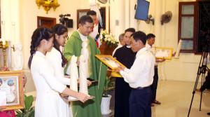 [Hà Nam] Khai Giảng Lớp Giáo Lý Hôn Nhân Và Dự Tòng 2021 Giáo Xứ Giang Xá