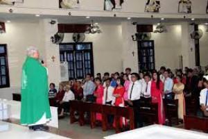 [Hồ Chí Minh] Khai Giảng Lớp Giáo Lý Hôn Nhân  Và Dự Tòng 2021 Tại Giáo Xứ Hóc Môn Tháng 4